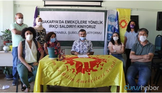KESK İstanbul Şubeler Platformu'ndan saldırıya uğrayan Kürt işçiler hakkında açıklama