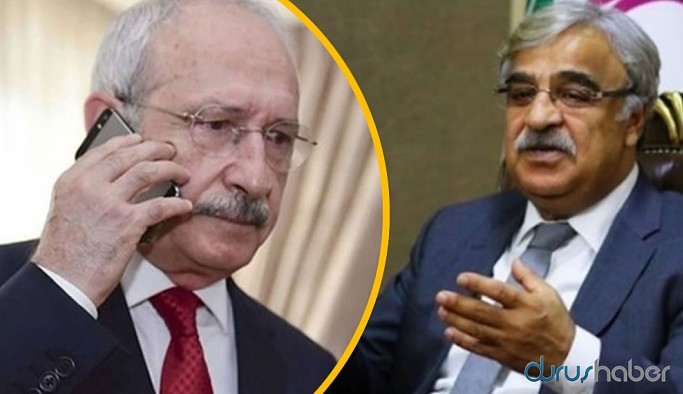 Kılıçdaroğlu HDP Eş Genel Başkanı Sancar'ı aradı