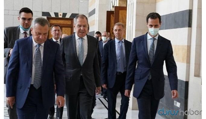Lavrov Suriye'de Esad'la görüştü: Şam'ın İdlib'de kontrolü arttı