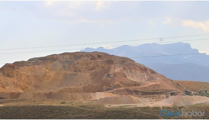 Maden ocakları ile yaşam alanları yok olacak