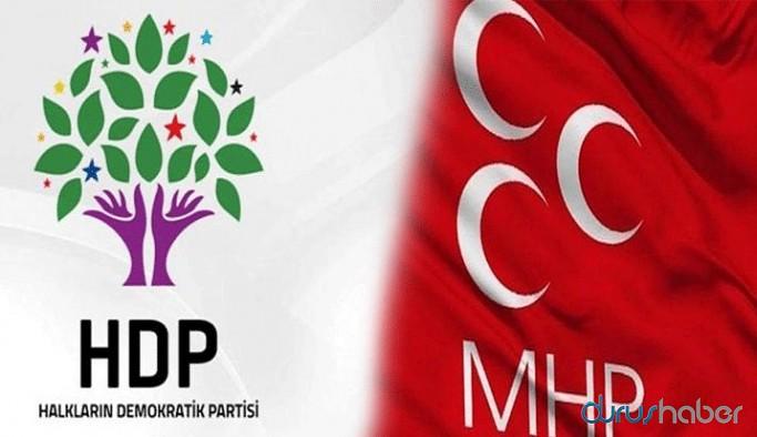 MHP'den HDP açıklaması