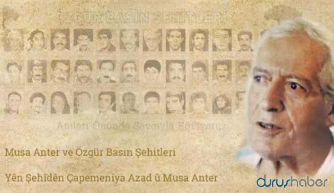 Musa Anter ve Özgür Basın Şehitleri Gazetecilik Ödüllerinin sahipleri belli oldu