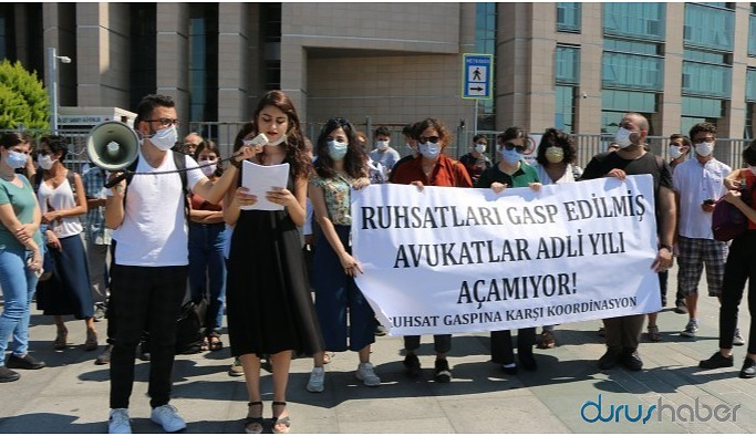 Ruhsatları verilmeyen avukatlar: İktidar imha politikası yürütüyor