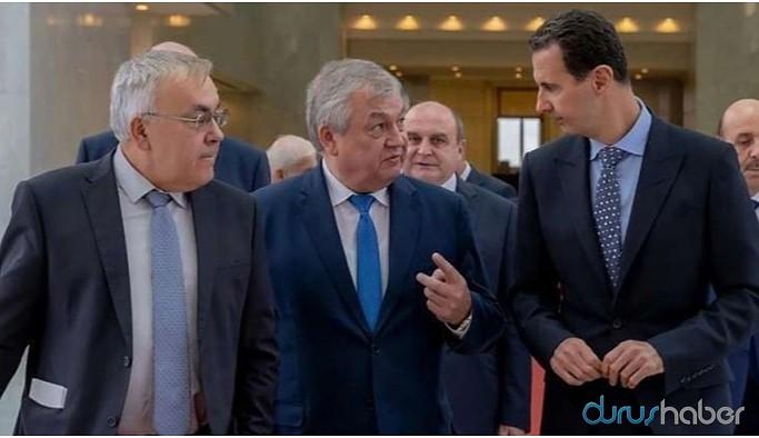 Rus heyet Şam'da