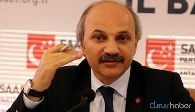 Saadet Partisi'nden HDP operasyonuna tepki