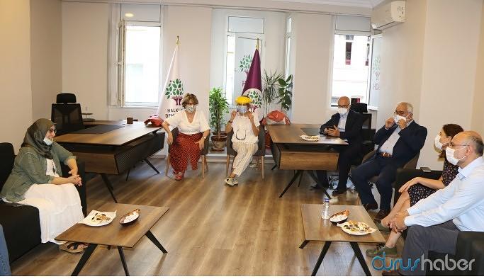 STÖ'lerden HDP'ye destek ziyaretleri