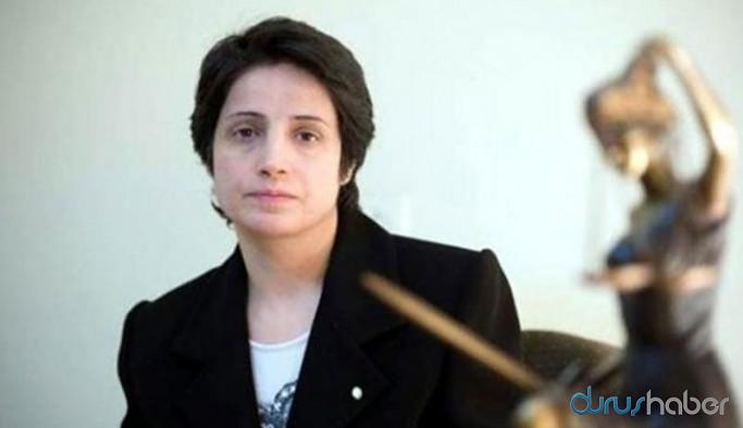 Tutuklu İranlı aktivist Nasrin Sotoudeh'e insan hakları ödülü