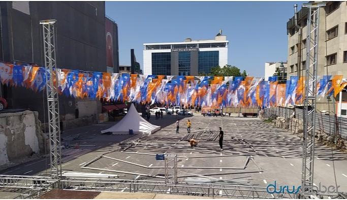 Valiliğin yasağı AKP'yi kapsamıyor!