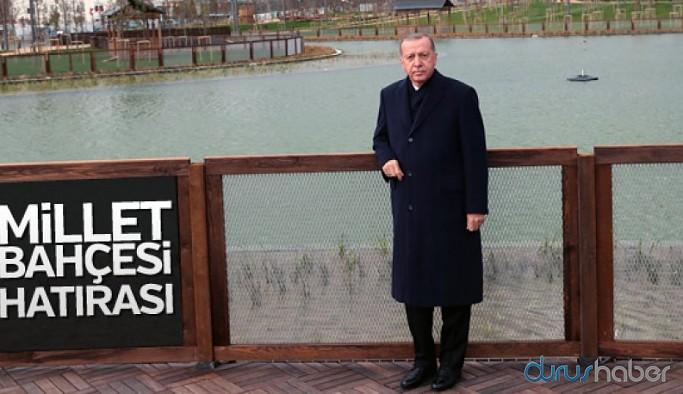 101 milyon liralık 'Recep Tayyip Erdoğan Millet Bahçesi'