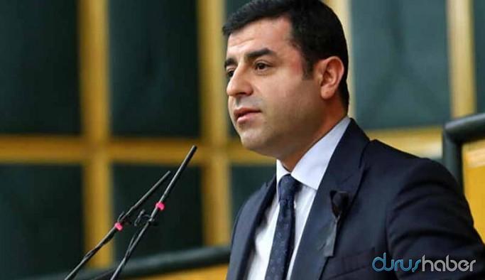 Demirtaş'tan dikkat çeken 'Kobani eylemleri' paylaşımı