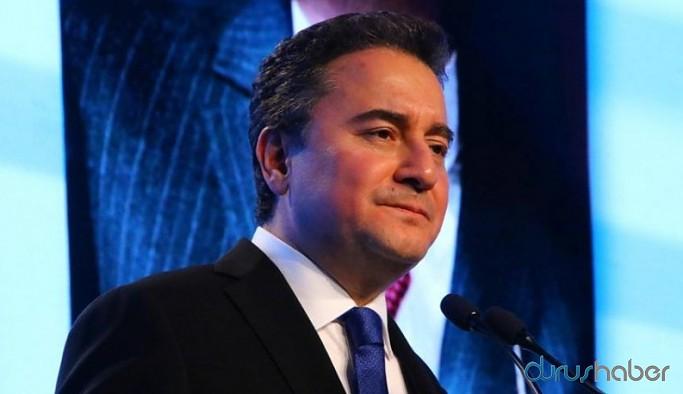 Ali Babacan: O gün destek verenler bugün hayal kırıklığı içinde