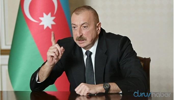Aliyev: Ermenistan ateşe son verirse askeri faaliyetleri durduracağız
