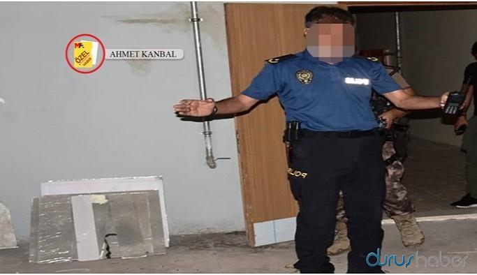 Alkol alıp gözaltındakileri darp eden emniyet müdürü kendisini coplattı