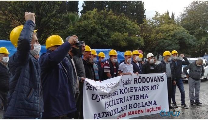 Ankara'ya yürümek isteyen Soma maden işçileri gözaltına alındı