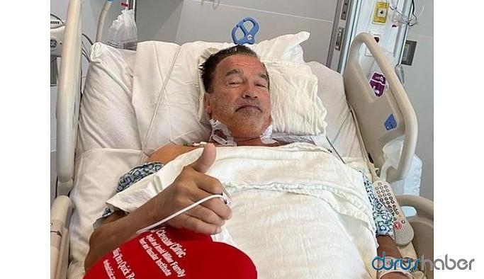 """Arnold Schwarzenegger """" Terminatör"""" ameliyat oldu"""