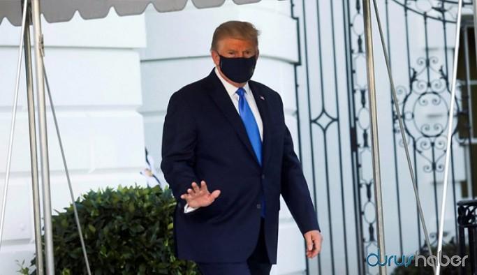 Beyaz Saray'dan koronavirüse yakalanan Donald Trump'ın sağlık durumuna ilişkin açıklama