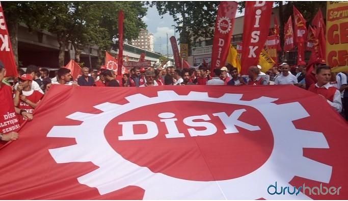 DİSK yöneticileri: Emekçinin gündeminde AKP'yi göndermek var