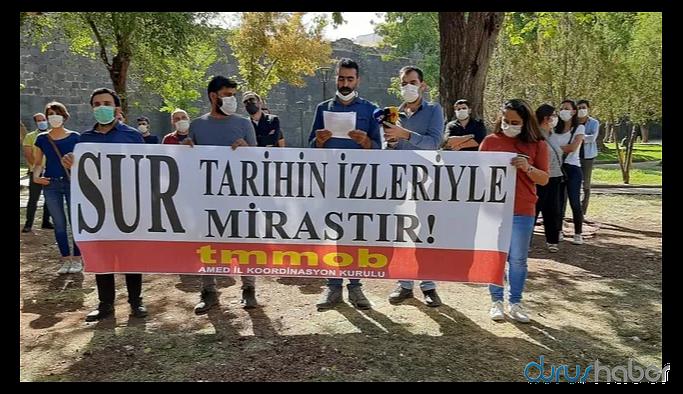 'Diyarbakır Sur'da bir talan projesi yürütülüyor'