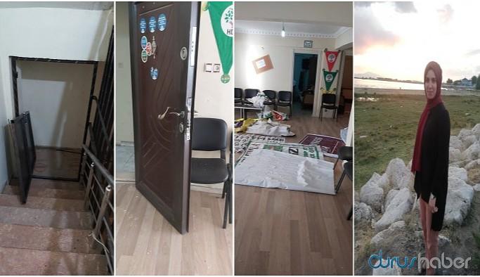 Doğubayazıt'ta HDP binasına baskın: Eşbaşkanlar gözaltına alındı