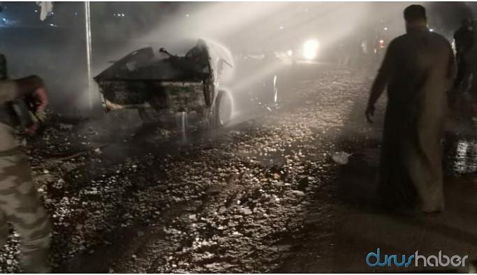 Efrîn'de patlama: Yaralılar var