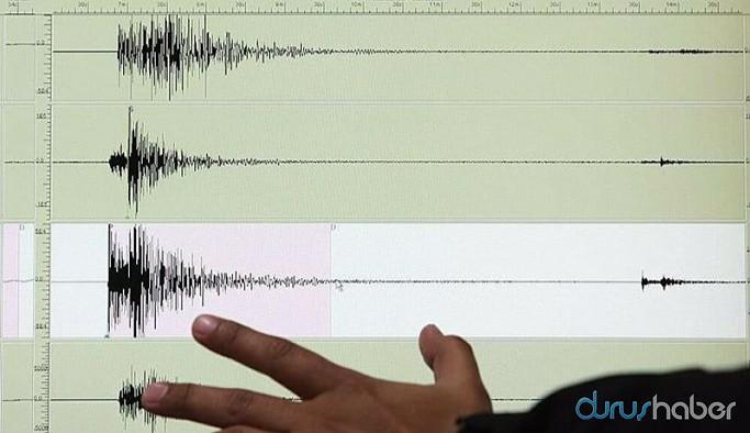 Ege'de peş peşe 3 deprem