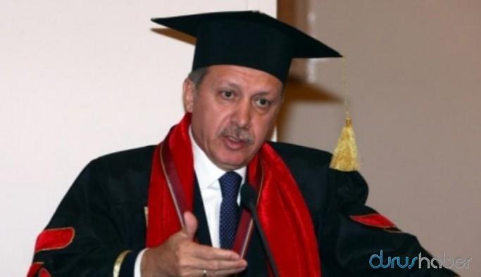 Erdoğan'dan üniversitelerin yüz yüze eğitimine ilişkin açıklama