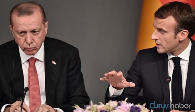 Erdoğan-Macron gerilimi Guardian'da: İkisinin de işine geliyor