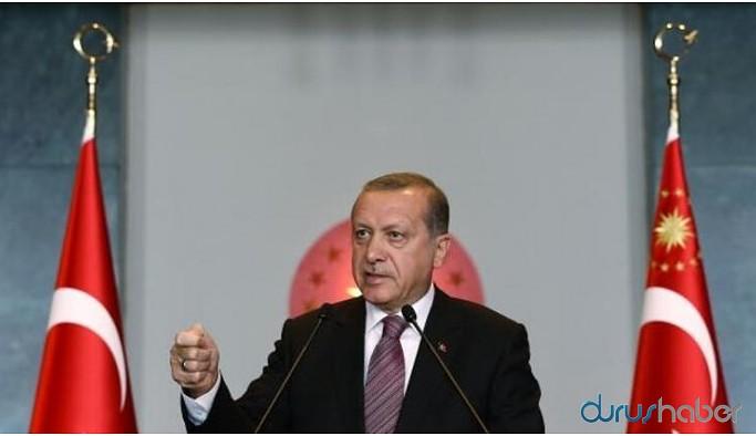 Erdoğan YÖK heyetiyle bir araya geldi