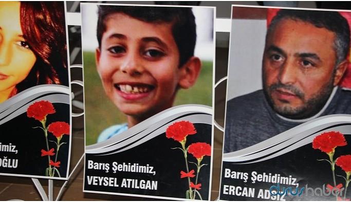 Gar katliamında yaşamını yitirenler Diyarbakır'da anıldı