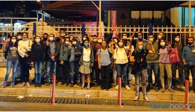 Gözaltına alınan 17 Halkevi üyesi serbest