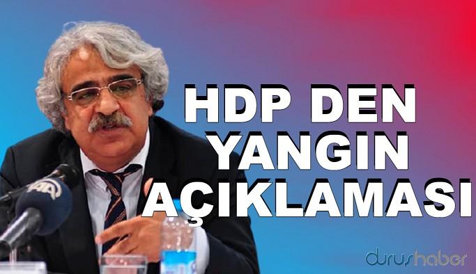 HDP'DEN ORMAN AÇIKLAMASI
