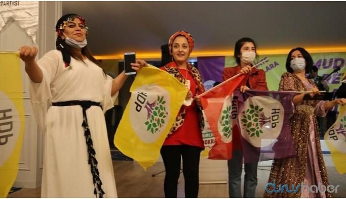 HDP'nin kuruluşu Ankara'da coşku ile kutlandı
