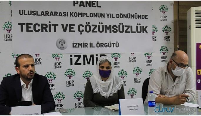 HDP'li Kaçmaz: İmralı tecridine hep birlikte karşı çıkalım