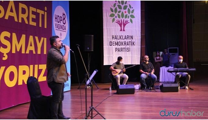 HDP'nin kuruluş yıldönümü şölen ile kutlandı
