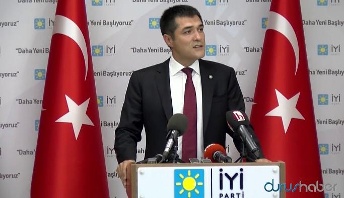 İYİ Partili Buğra Kavuncu'yu Akar ve Fidan'a sorup il başkanı yaptılar iddiası