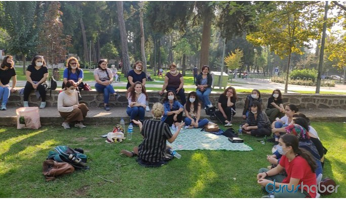 Kadınlar İstanbul Sözleşmesi'ni konuştu