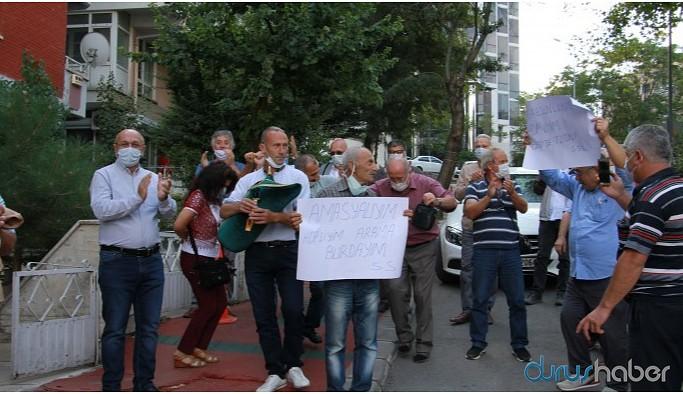 Karadenizlilerden tulum ve horonlar eşliğinde HDP'ye destek ziyareti