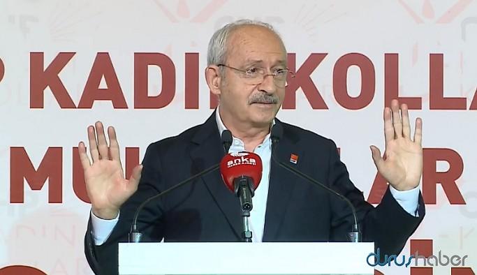 Kemal Kılıçdaroğlu: Muhtarlara emlak vergisinden bütçe verilsin