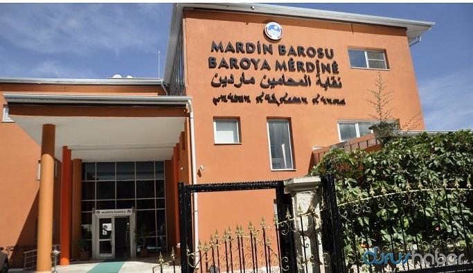 Mardin Barosu'ndan 4 dilli tabela