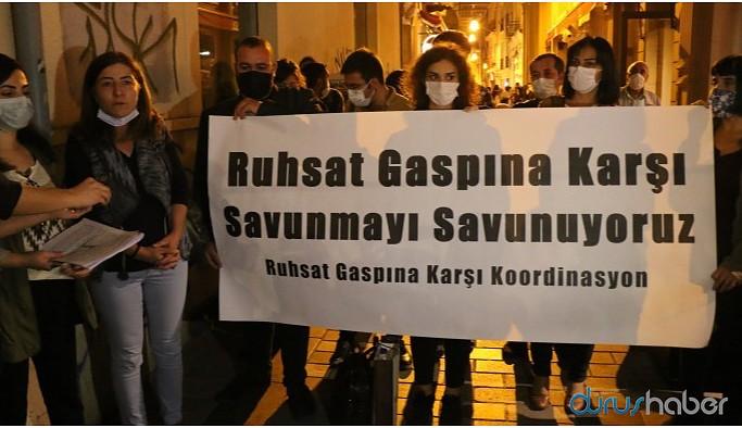 'Ruhsat gaspıyla muhaliflerin savunma hakkı da ellerinden alınıyor'