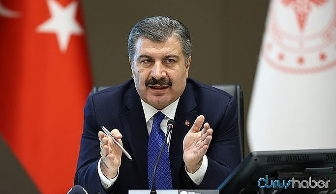 Sağlık Bakanı Koca'dan salgının son durumuna ilişkin açıklama