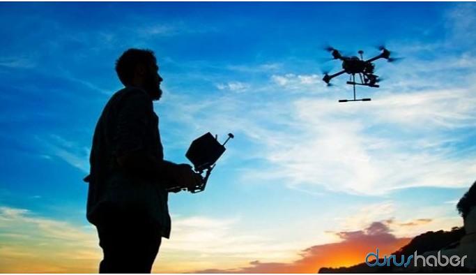Sur'da drone uçuran turist gözaltına alındı