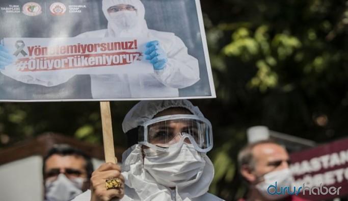 TTB: Bir günde 5 sağlık çalışanı yaşamını yitirdi, yönetemiyorsunuz