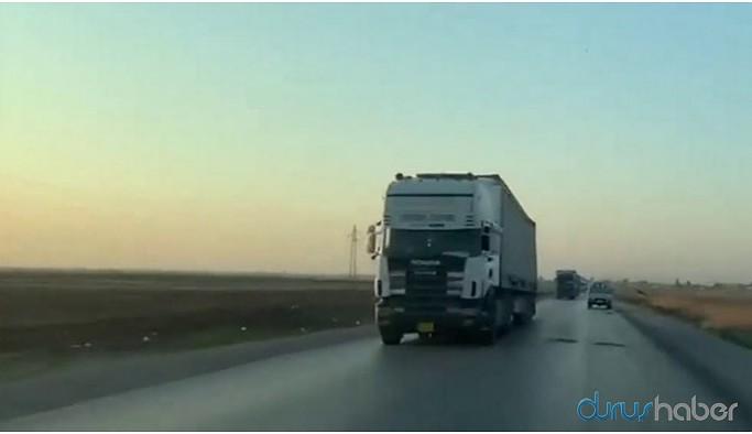 Uluslararası Koalisyon konvoyuna füze saldırısı