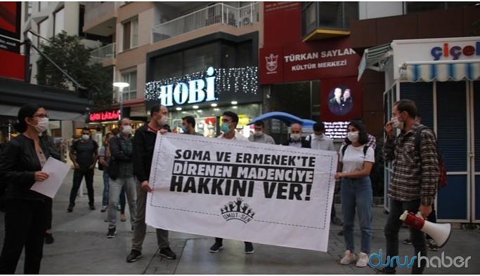 Uyar maden işçilerine destek açıklaması