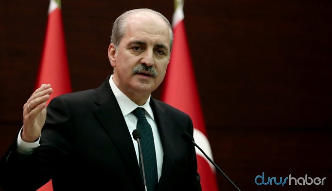 AKP'li Numan Kurtulmuş: Reform durduk yere yapılmaz