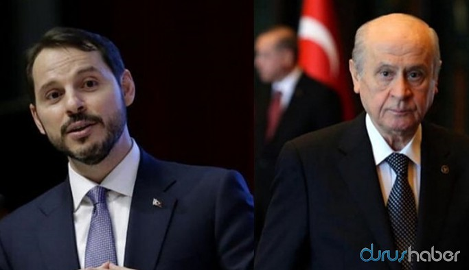 Albayrak'ın istifasını Bahçeli istedi iddiası
