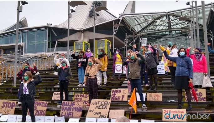 Belçika'da 25 Kasım eylemi