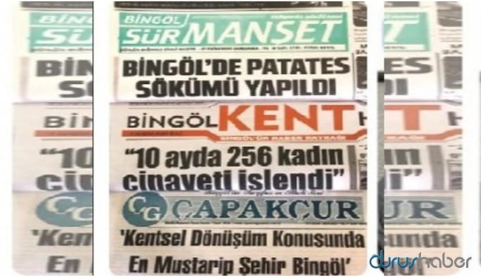 Bingöl'de yerel gazeteler ekonomik nedenlerden birleşme kararı aldı