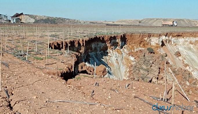 Bir maden skandalı daha! Yurttaşın tarlasına izinsiz kazı